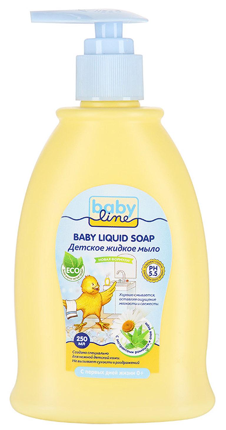 BABYLINE NATURE Детское жидкое мыло, с дозатором, 250 мл