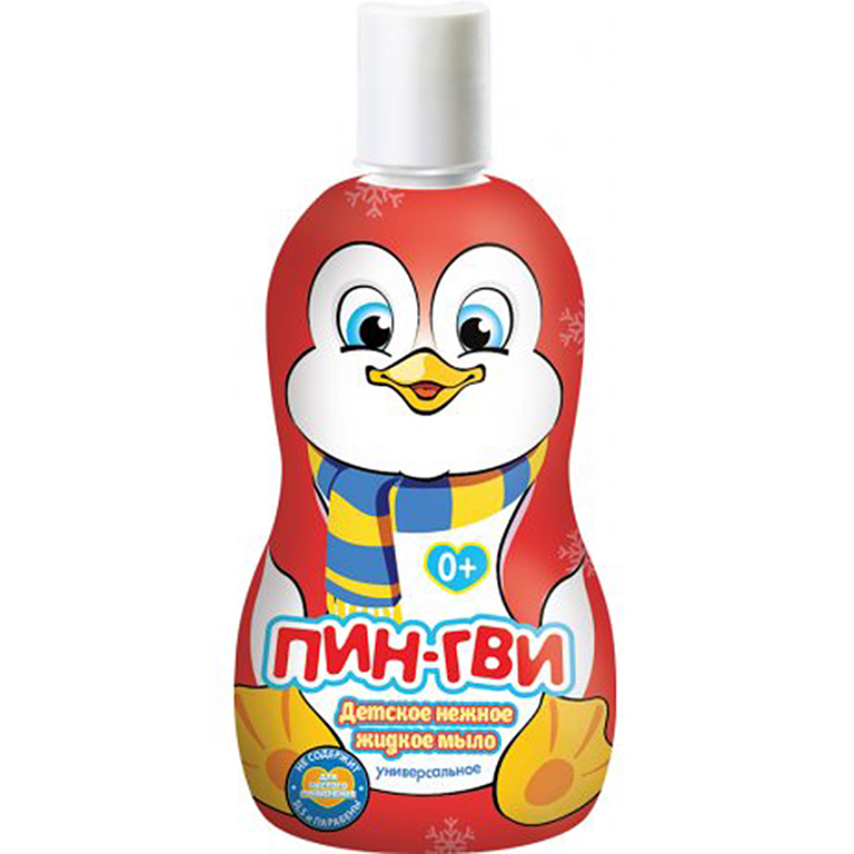 Пингви Жидкое мыло 480мл