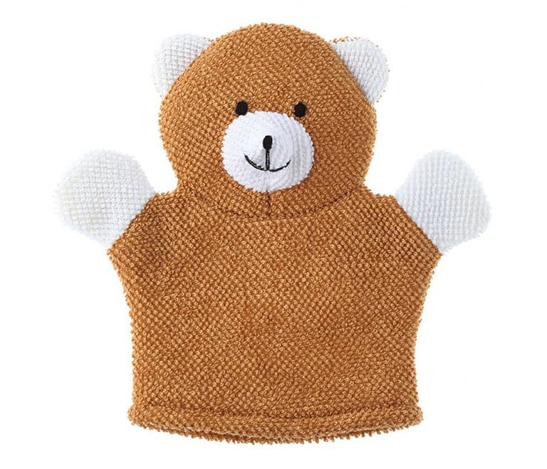 RBS-002 Махровая мочалка-рукавичка Baby Bear