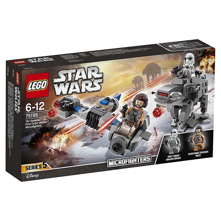 """75195 LEGO STAR WARS """"Бой пехотинцев Первого Ордена против спидера на лыжах"""""""