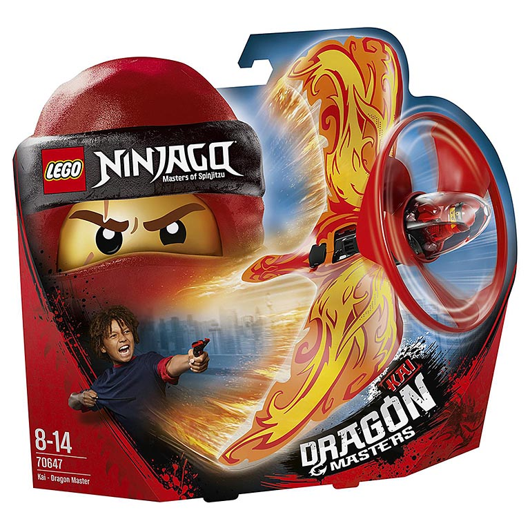 "70647 Ninjago ""Кай — Мастер дракона"""