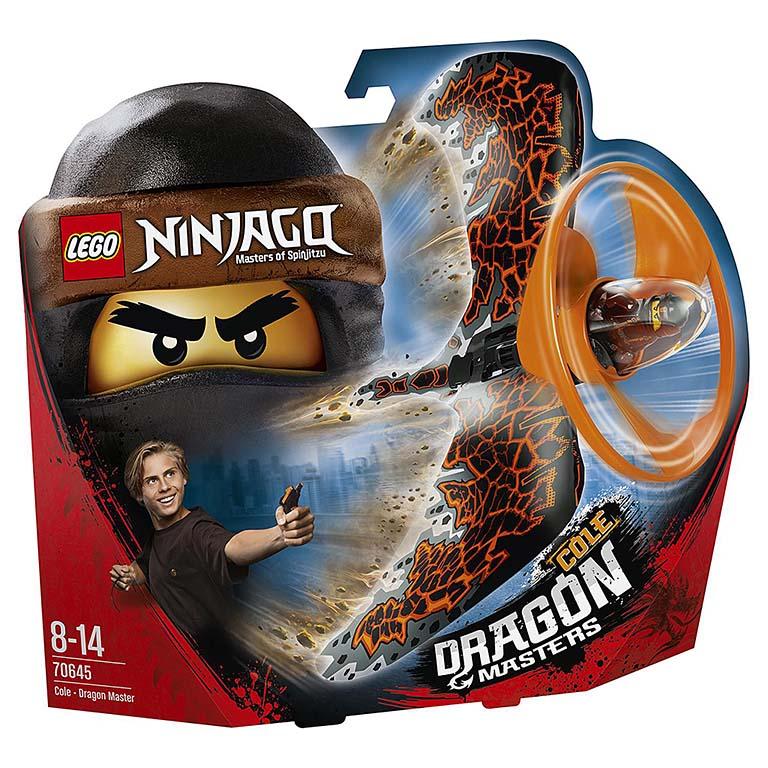 "70645 Ninjago ""Коул — Мастер дракона"""