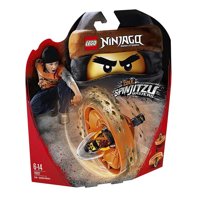 "70637 Ninjago ""Коул — Мастер Кружитцу"""