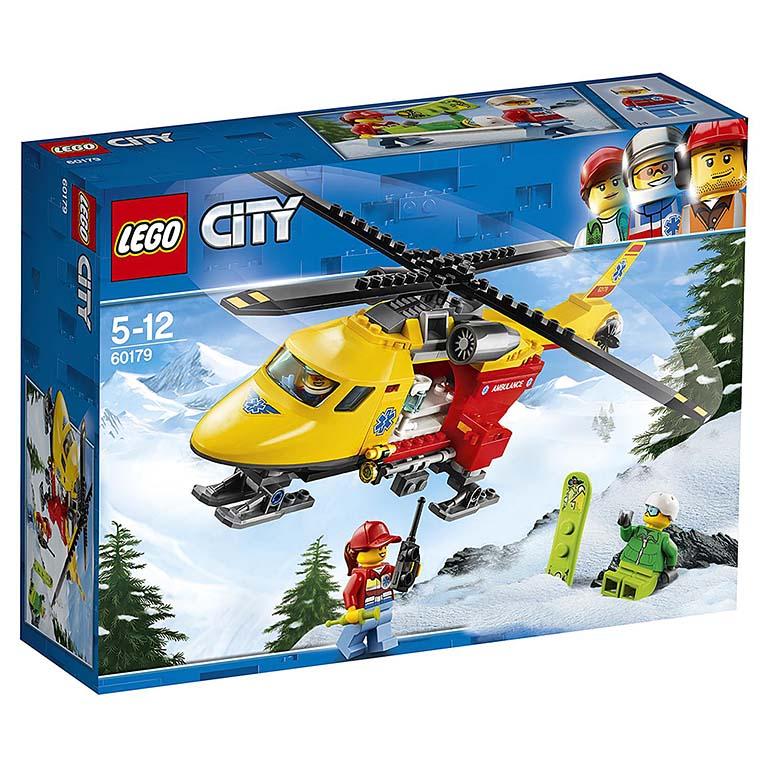 "60179 CITY ""Вертолёт скорой помощи"""