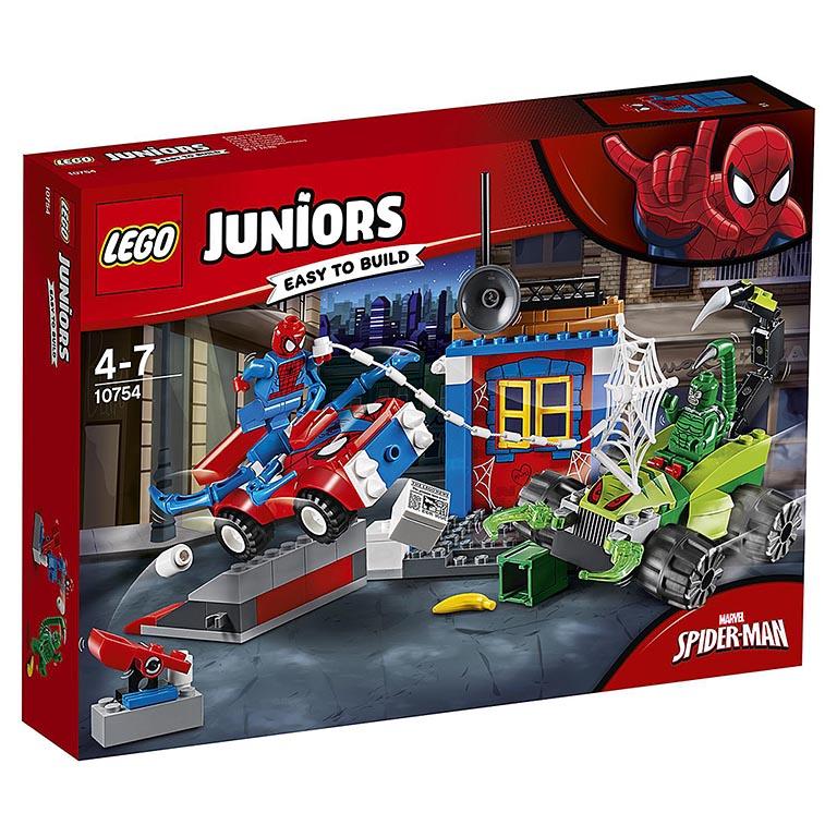 "10754 Juniors ""Решающий бой Человека-паука против Скорпиона"""