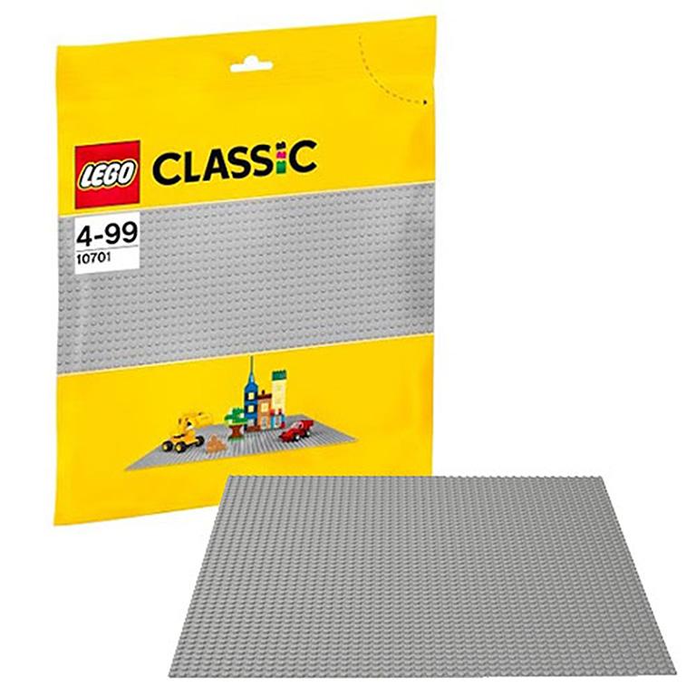 10701 Classic Строительная пластина серого цвета