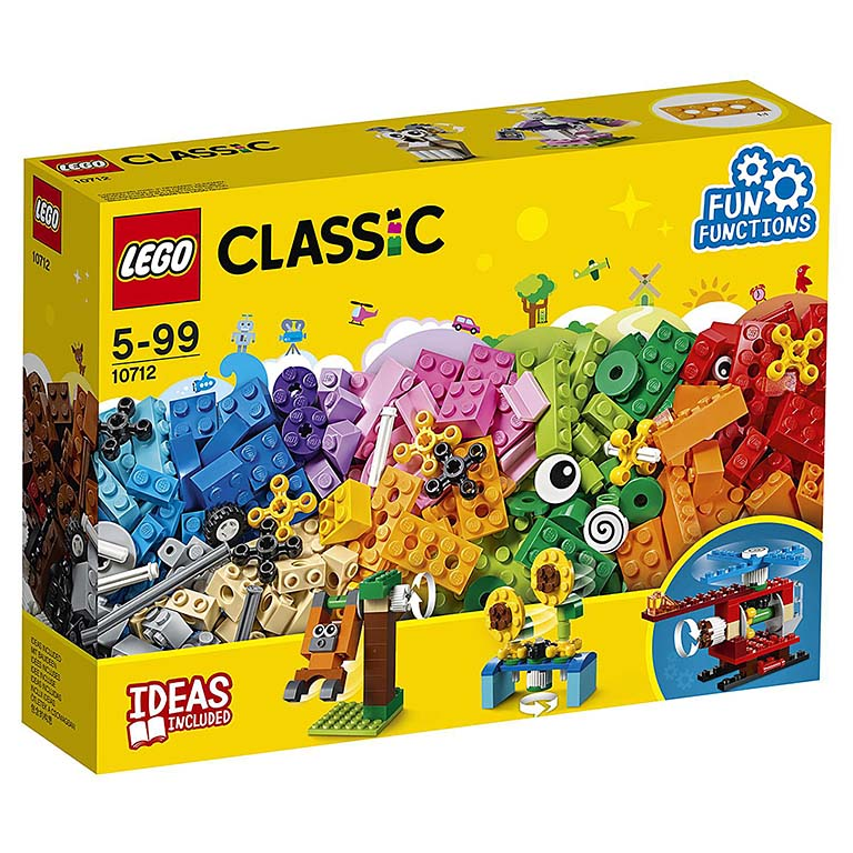 "10712 LEGO CLASSIC ""Кубики и механизмы"""