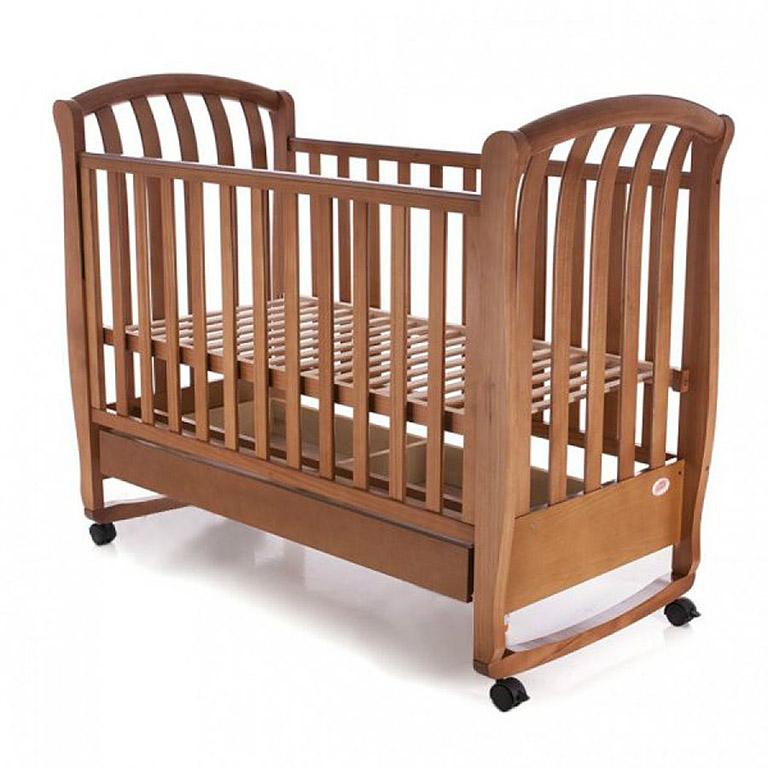 Кровать ВС-800ВС дерево тик ламель