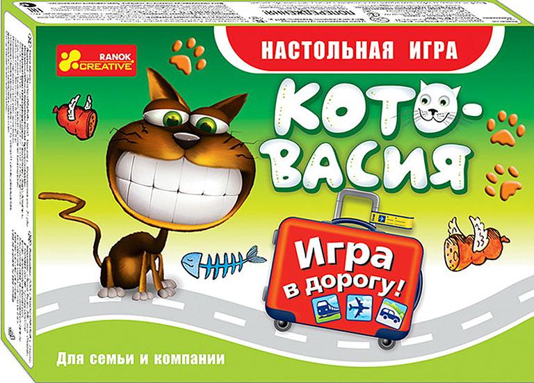 """12170003Р Настольная игра """"Кото-васия"""""""
