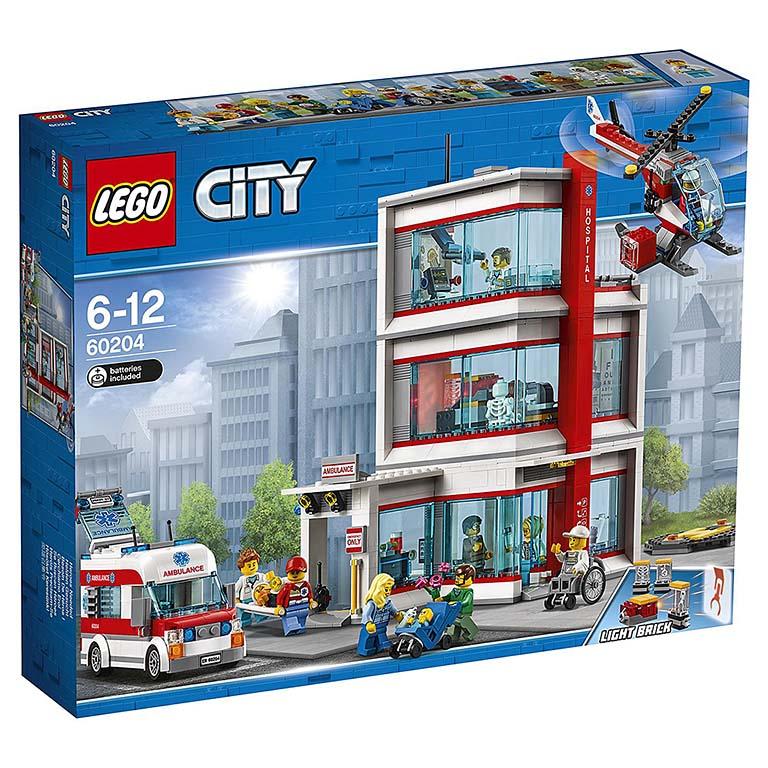 """60204 CITY """"Городская больница LEGO"""""""