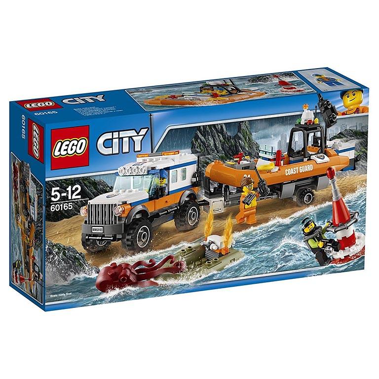 """60165 CITY """"Внедорожник 4х4 команды быстрого реагирования"""""""