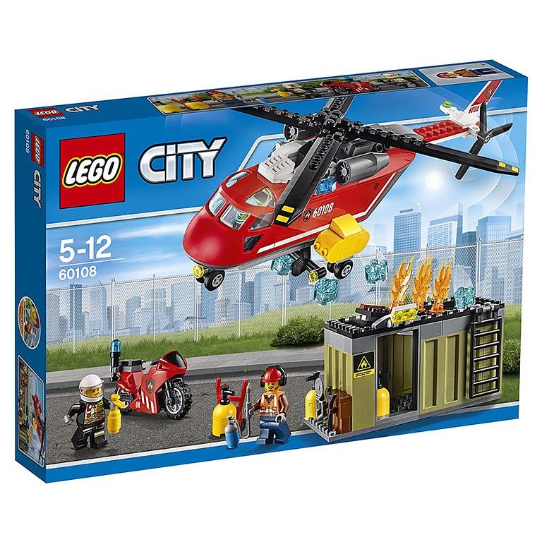 """60108 CITY """"Пожарная команда быстрого реагирования"""""""