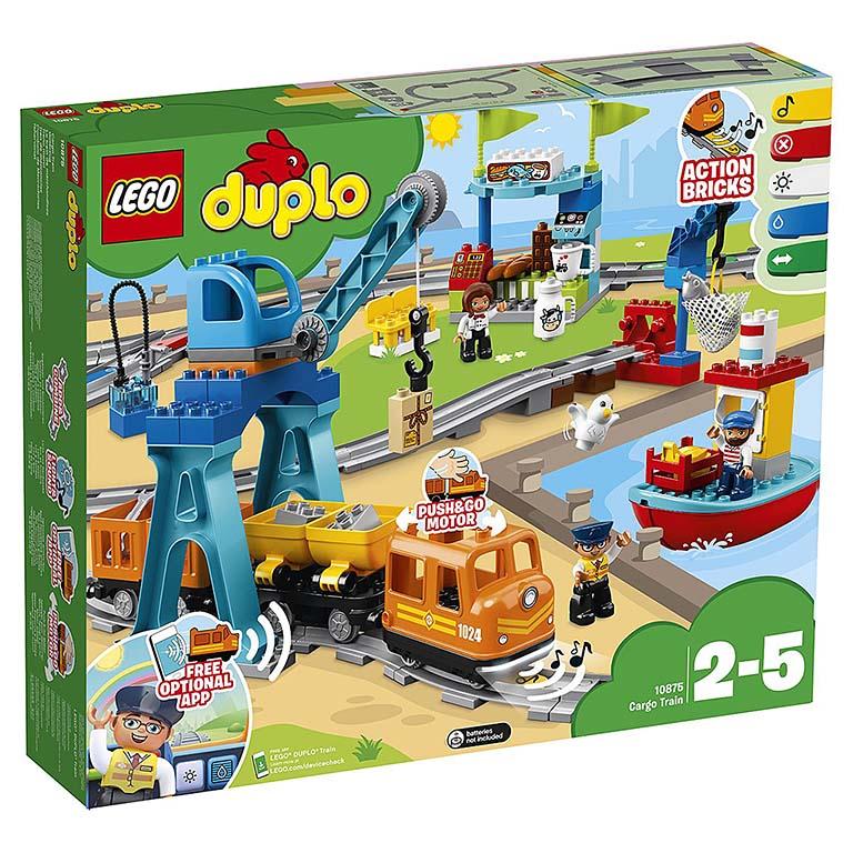 """10875 DUPLO """"Грузовой поезд"""""""
