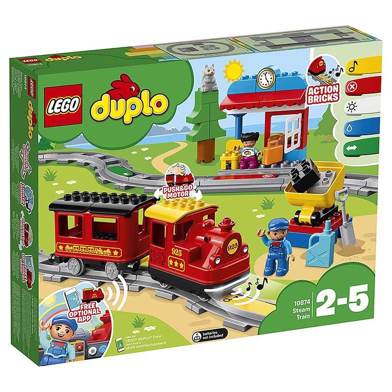 """10874 DUPLO """"Поезд на паровой тяге"""""""