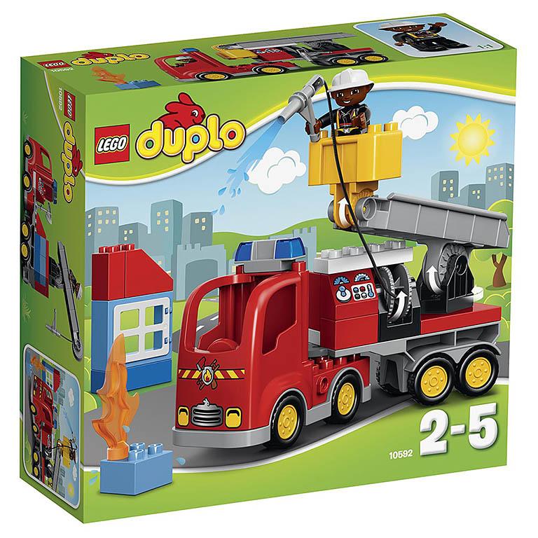 """10592 DUPLO """"Пожарный грузовик"""""""