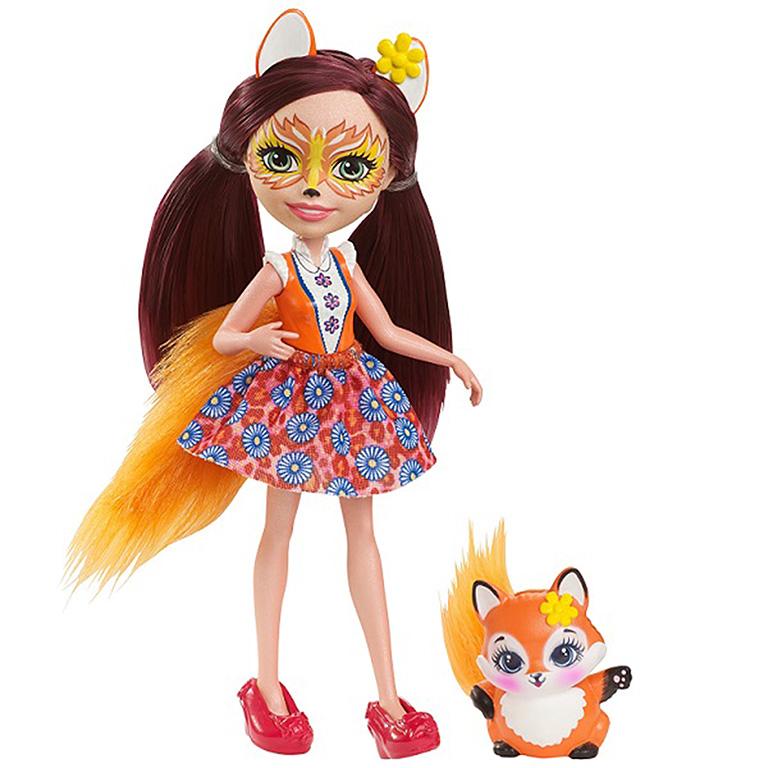 """DVH89 ENCHANTIMALS """"Кукла с любимой зверюшкой - Фелисити Лис"""""""