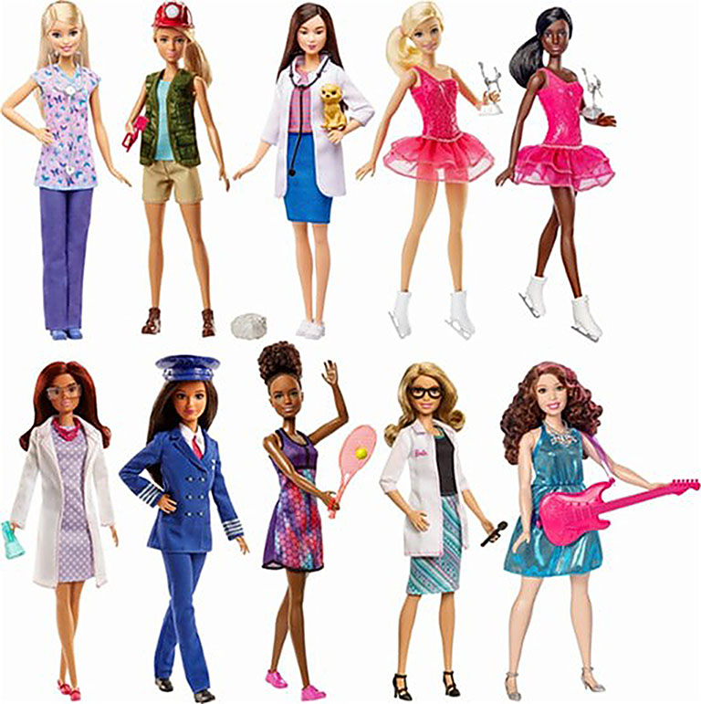 """DVF50  BARBIE """"Barbie из серии «Кем быть» в асс."""""""