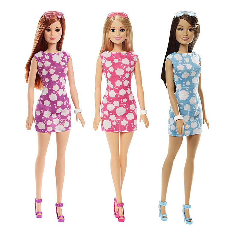 """DMP22 BARBIE """"Куклы в модных платьях в ассортименте"""""""
