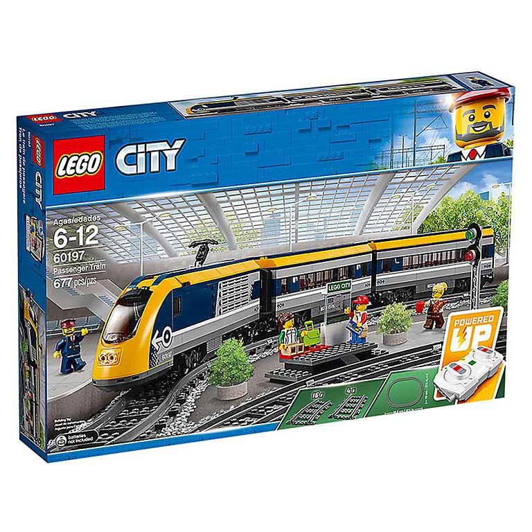 """60197 CITY """"Пассажирский поезд"""""""