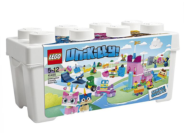 """41455 UNIKITTY """"Коробка кубиков для творческого конструирования «Королевство»"""""""