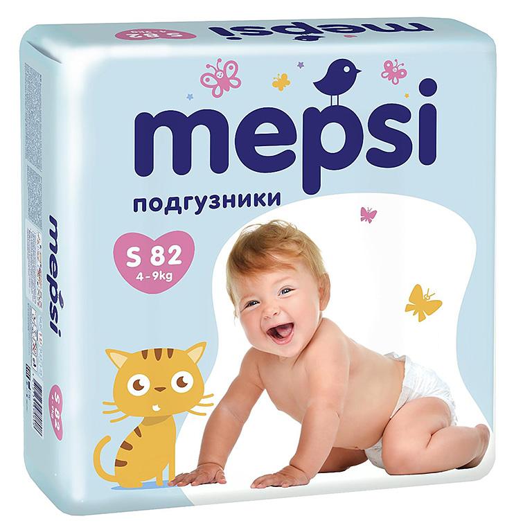 MEPSI Подгузник детский S 82шт