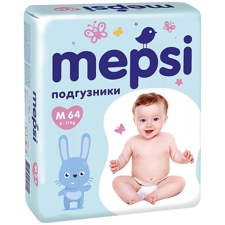 MEPSI Подгузник детский M 64шт