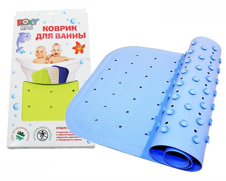 ВМ-34576 Антискользящий резиновый коврик для ванны ROXY-KIDS 34,5х76см