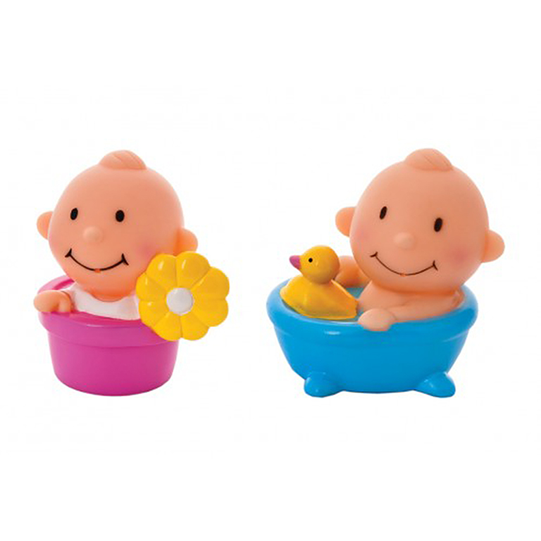 25129 Набор игрушек-брызгалок для ванны Курносики Непоседы