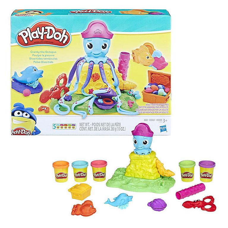 """Е0800  Play-Doh Набор """"Веселый осьминог"""""""