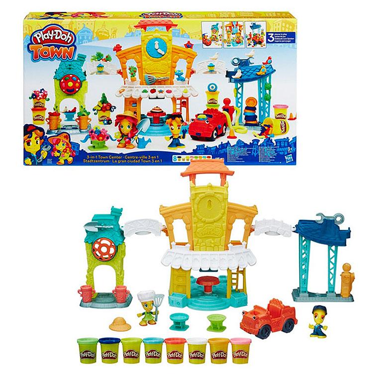 """Play-Doh В5868 Игровой набор """"Главная улица"""""""