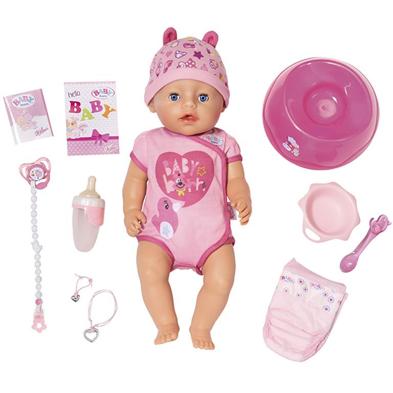 825-938 BABY born Кукла Интерактивная, 43 см,