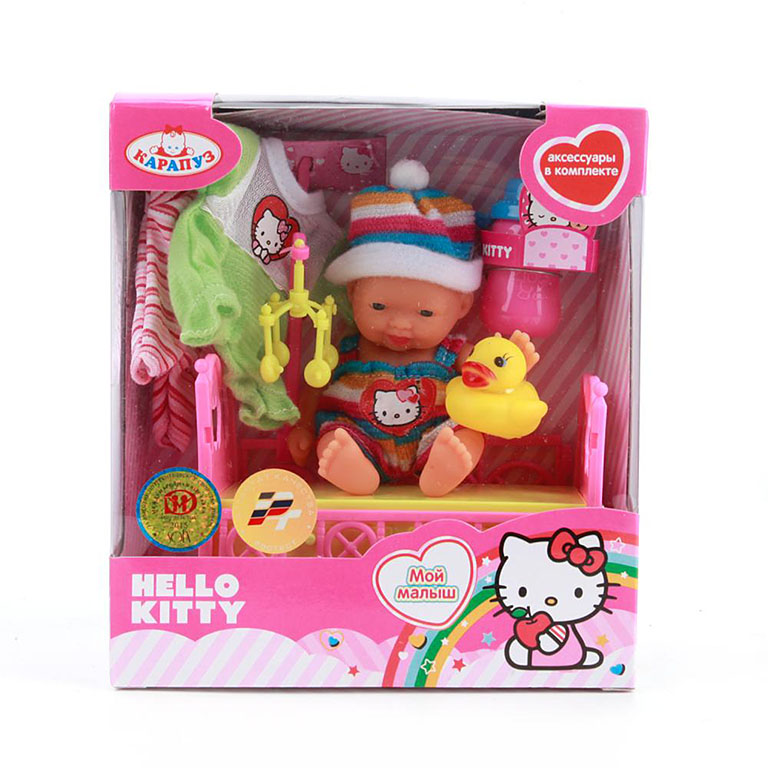 "U536-H43085 HELLO KITTY ПУПС ""КАРАПУЗ"" 10СМ"