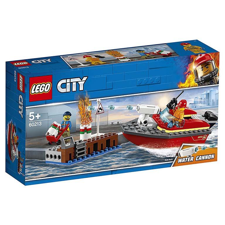 """60213 CITY """"Пожар в порту"""""""