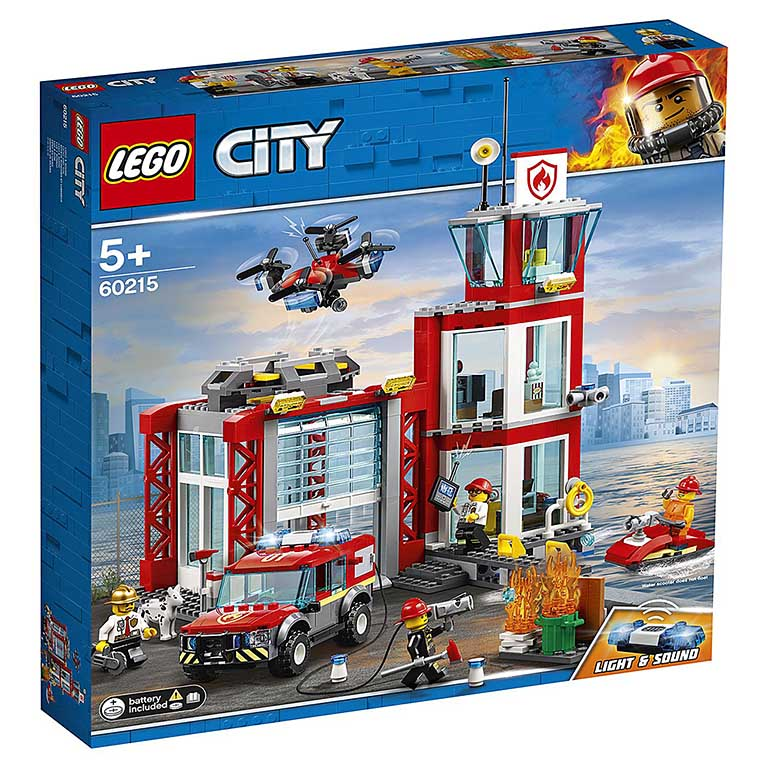 """60215 CITY """"Пожарное депо"""""""