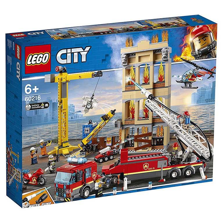 """60216 CITY """"Центральная пожарная станция"""""""