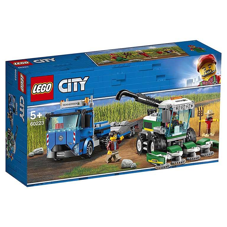"""60223 CITY """"Транспортировщик для комбайнов"""""""