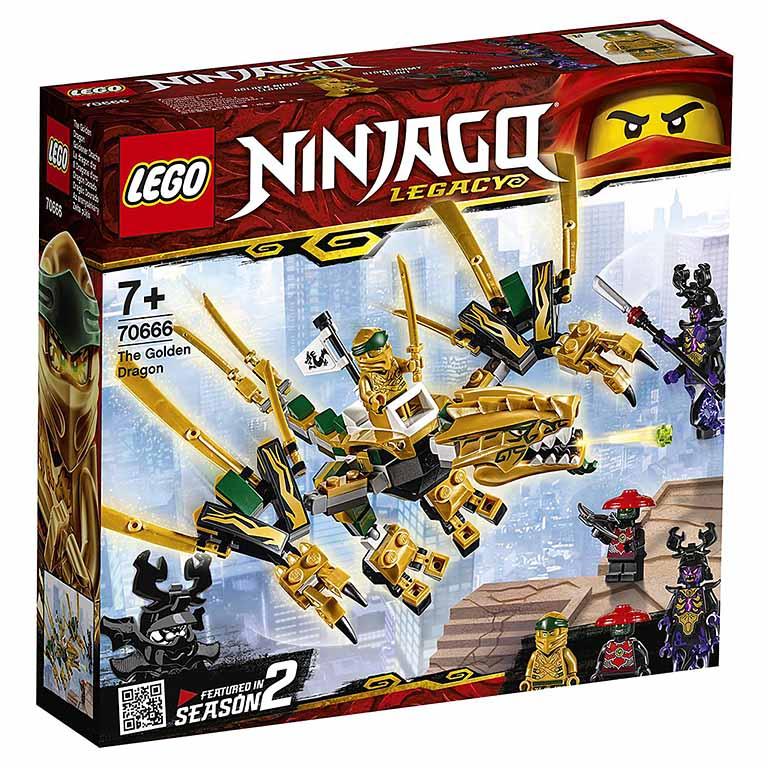 """70666 Ninjago """"Золотой дракон"""""""