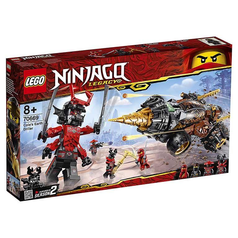 """70669 Ninjago """"Земляной бур Коула"""""""