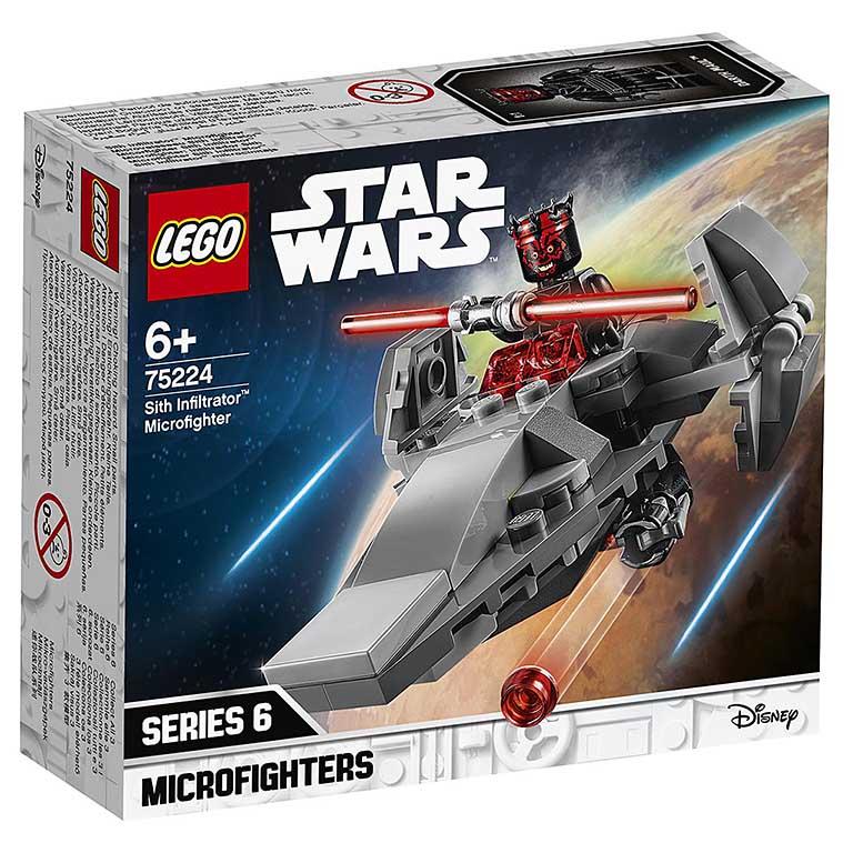 "75224 STAR WARS ""Микрофайтеры: Корабль-лазутчик"""