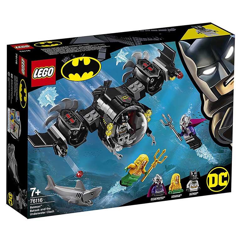 "76116 Super Heroes ""Подводный бой Бэтмена"""