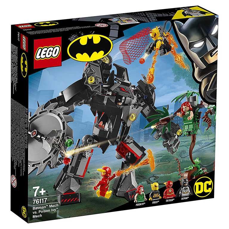 """76117 Super Heroes """"Робот Бэтмена против робота Ядовитого Плюща"""""""