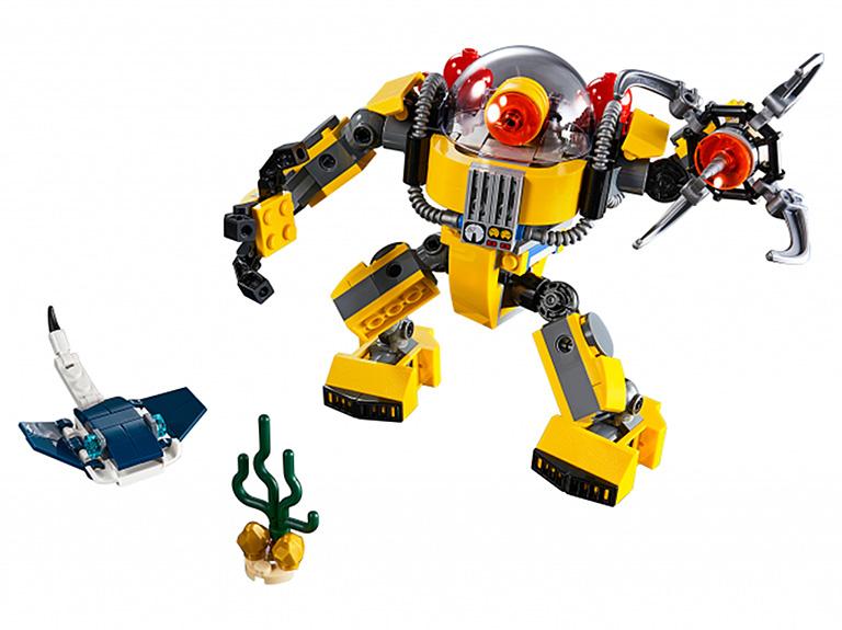 """31090 Creator """"Робот для подводных исследований"""""""