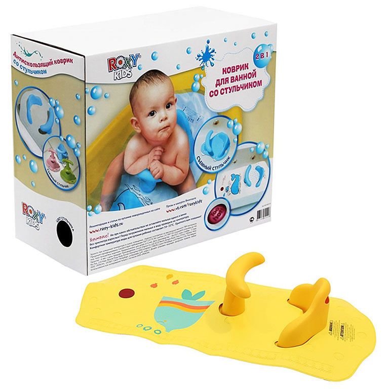 ВМ-4091СН Коврик для ванной со съемным стульчиком ROXY-KIDS