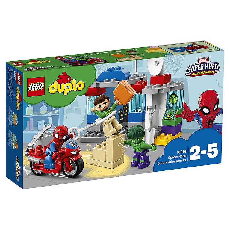 "10876 DUPLO ""Приключения Человека-паука и Халка"""