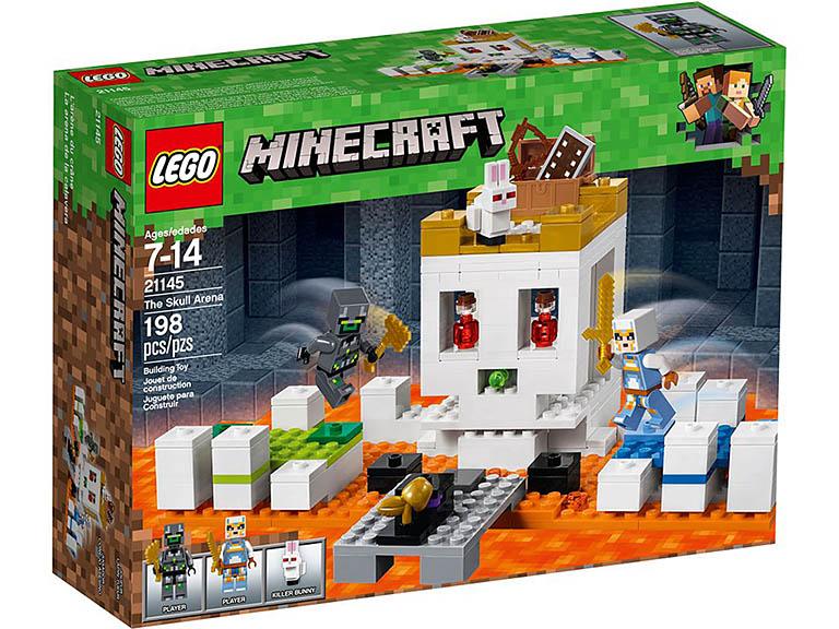 """21145 LEGO Minecraft """"Арена-череп"""""""