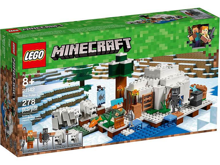 """21142 LEGO Minecraft """"Иглу"""""""