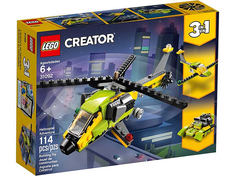 """31092 Creator """"Приключения на вертолёте"""""""