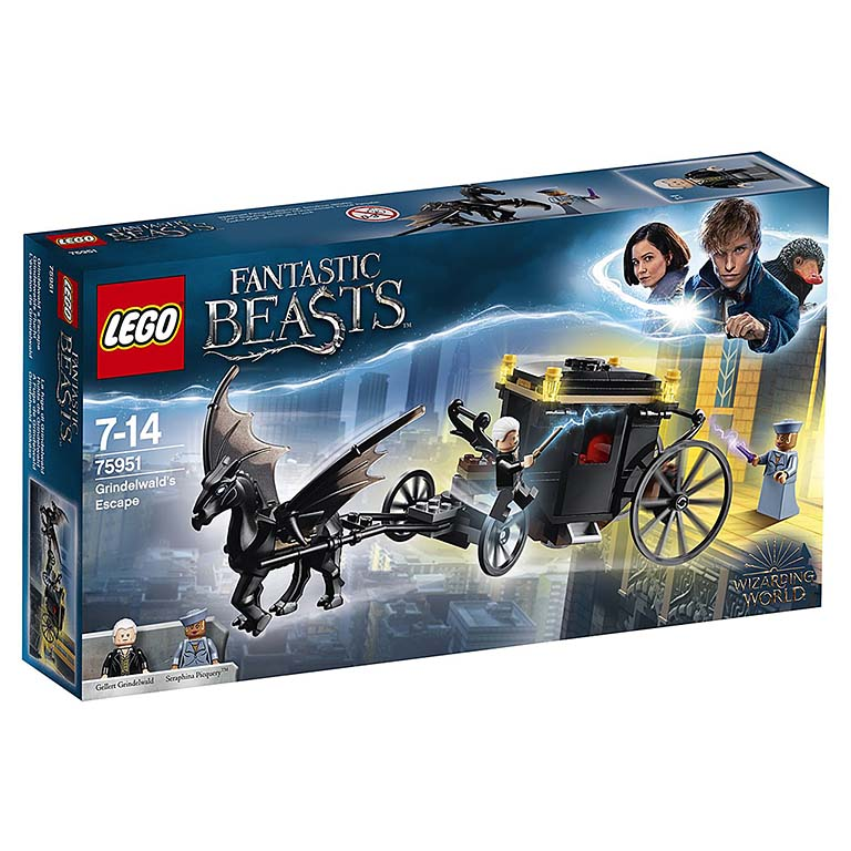 "75951 LEGO HARRY POTTER ""Побег Грин-де-Вальда"""