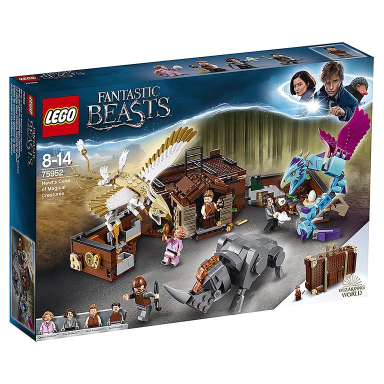 "75952 LEGO HARRY POTTER ""Чемодан Ньюта Саламандера"""