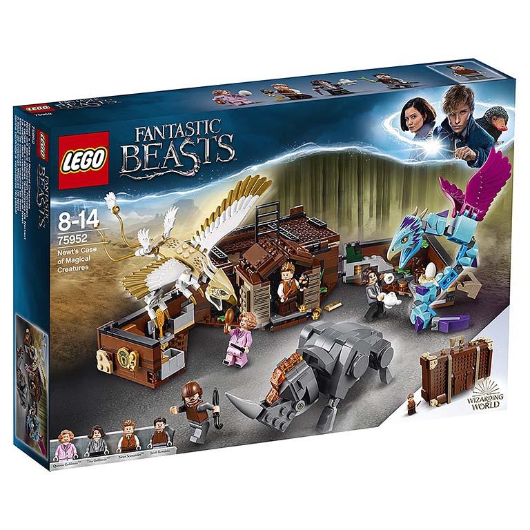 "75952 LEGO HARRY POTTER ""Чемодан Ньюта Саламандера"""